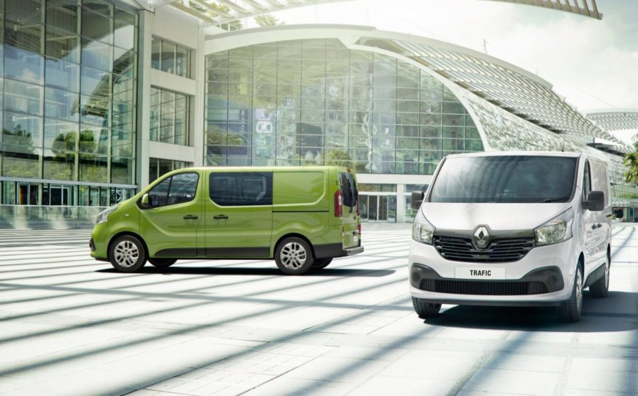 Leyshon Flint & Sons, Bridgend   The Renault TRAFIC Van
